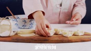 四喜蒸饺的做法步骤:7