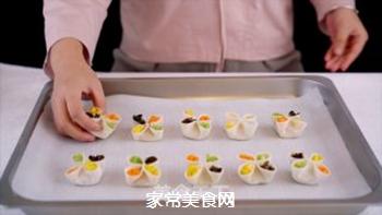 四喜蒸饺的做法步骤:9