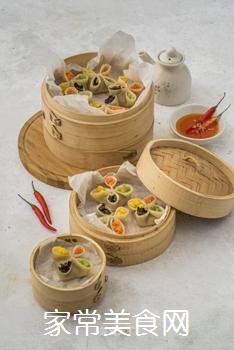 四喜蒸饺的做法