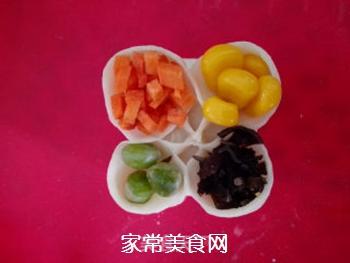 四宝蒸饺的做法步骤:9