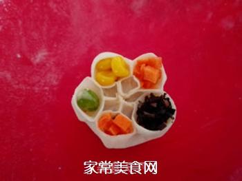 四宝蒸饺的做法步骤:12