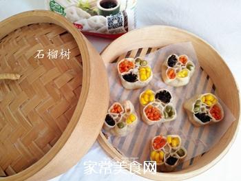 四宝蒸饺的做法