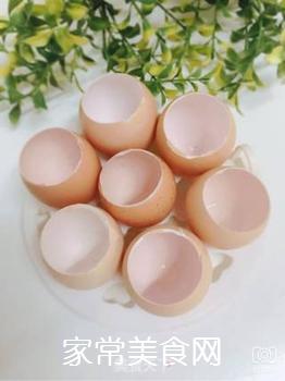 五彩糯米蛋的做法步骤:2
