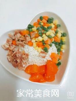 五彩糯米蛋的做法步骤:5