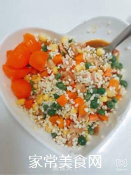 五彩糯米蛋的做法步骤:6