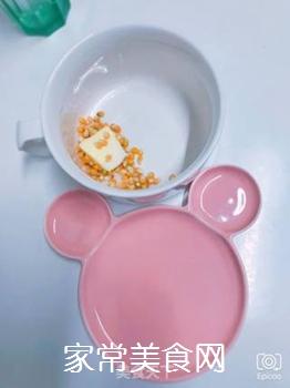 快手爆米花(泡面杯+微波炉)的做法步骤:2