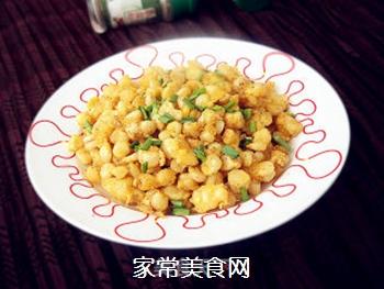 椒盐玉米的做法步骤:8