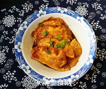 烩蛋饺的做法步骤:13