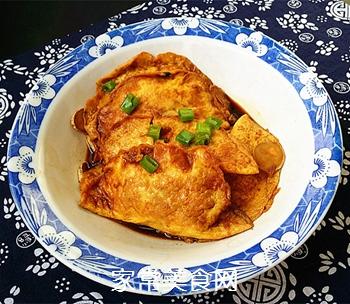 烩蛋饺的做法
