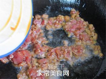 自制开胃下饭的肉末酱的做法步骤:5