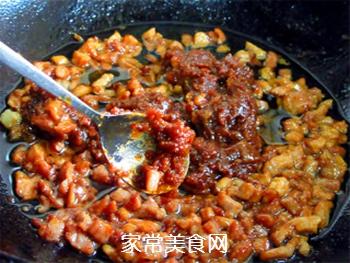 自制开胃下饭的肉末酱的做法步骤:7