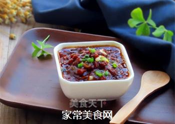 自制开胃下饭的肉末酱的做法步骤:9