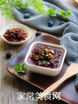 自制开胃下饭的肉末酱的做法步骤:10
