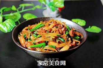 【广西】炒粉条的做法