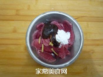芹菜炒肉片的做法步骤:4