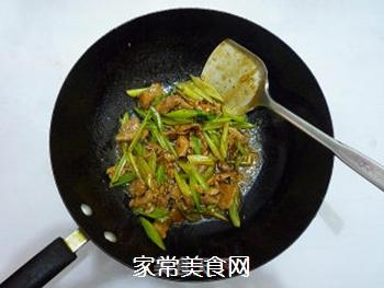 芹菜炒肉片的做法步骤:13