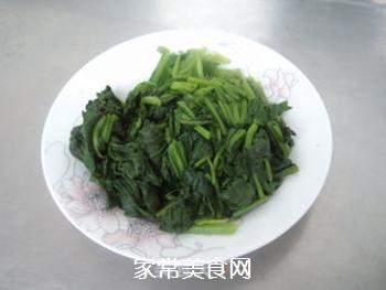 【天津】菠菜丸子汤的做法步骤:3