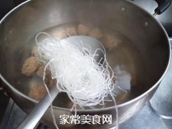 【天津】菠菜丸子汤的做法步骤:5