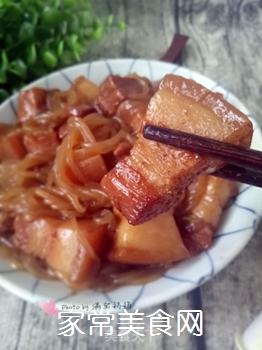 猪肉炖粉条的做法步骤:16