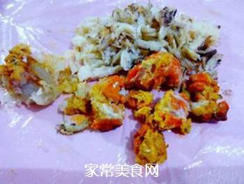 【扬州】蟹粉狮子头的做法步骤:2