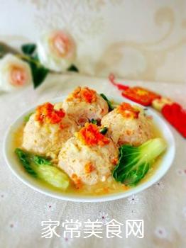 【扬州】蟹粉狮子头的做法步骤:18