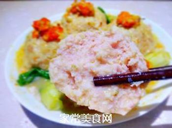 【扬州】蟹粉狮子头的做法步骤:19