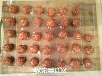 【东北】紫菜肉丸汤的做法步骤:7