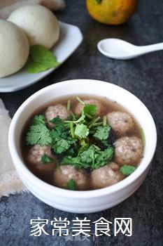 【东北】紫菜肉丸汤的做法步骤:8