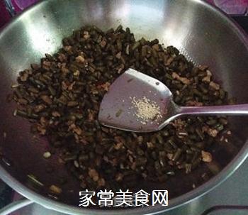 肉末酸豆角的做法步骤:15