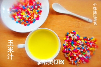 鲜榨玉米汁的做法步骤:5