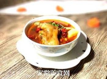 猪脚萝卜汤的做法步骤:6