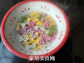黑椒牛肉蝴蝶面的做法步骤:9