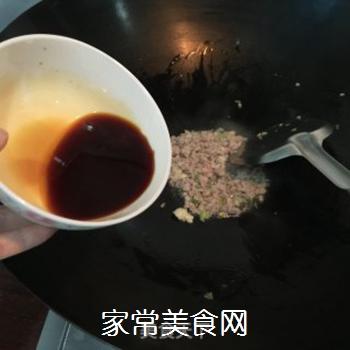 肉酱面的做法步骤:4