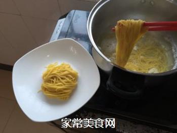 肉酱面的做法步骤:7