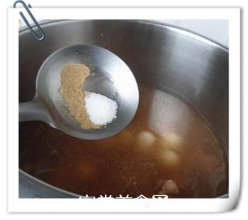 香芋排骨汤的做法步骤:6