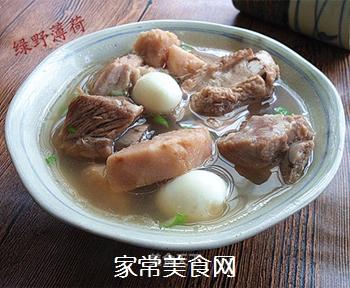 香芋排骨汤的做法
