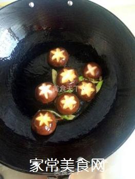 香菇油菜的做法步骤:4