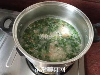 青菜粥的做法步骤:6