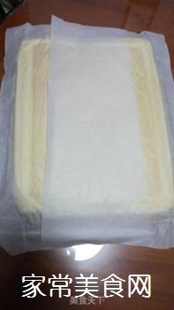 原味蛋糕卷的做法步骤:9