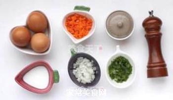 蔬菜鸡蛋卷的做法步骤:1
