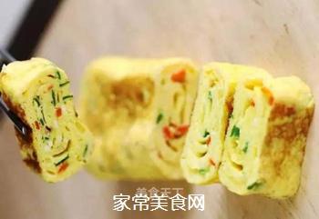 蔬菜鸡蛋卷的做法