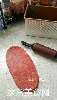红吐司的做法步骤:5