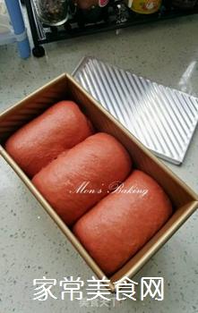 红吐司的做法步骤:9