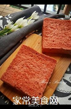 红吐司的做法步骤:15