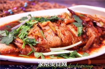 红烧黄花鱼的做法步骤:6
