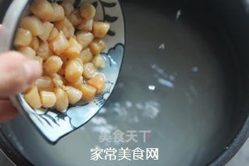 瑶柱鸡丝粥的做法步骤:5
