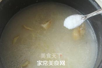 瑶柱鸡丝粥的做法步骤:7