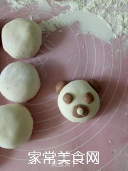 小熊豆沙包的做法步骤:11