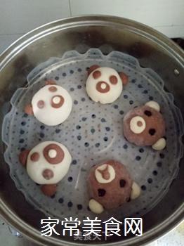 小熊豆沙包的做法步骤:13