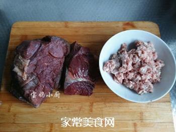 马肉馅水饺的做法步骤:2